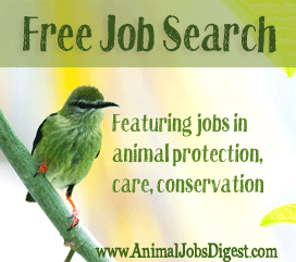 Jobs that help save animals?